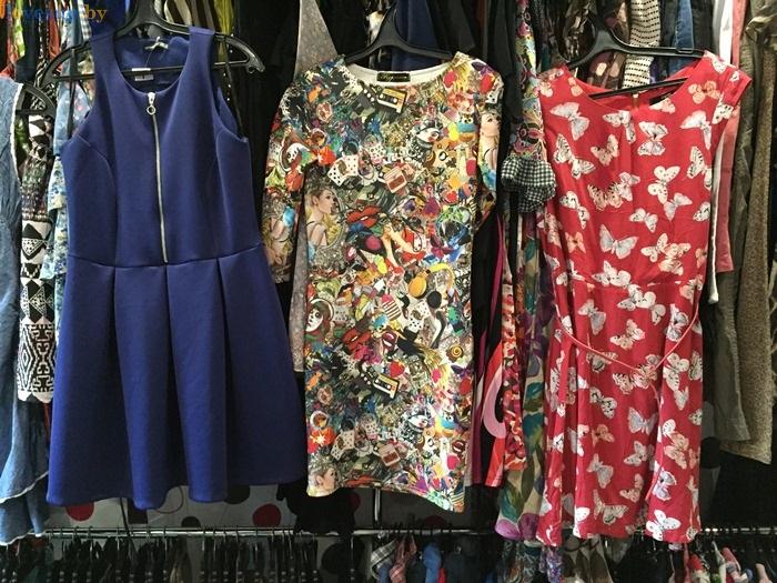 магазин одежды secon hand Бренд Микс платья
