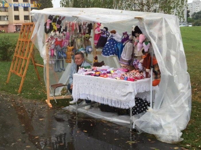 День города 19.09.2015 игрушки, женщина, палатка