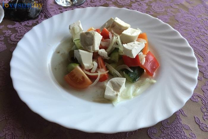 Бар Континент салат греческий IMG_8519