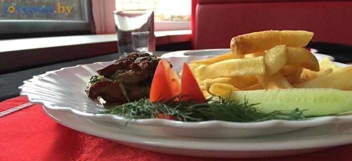 Ресторан Ксарт картофель мясо