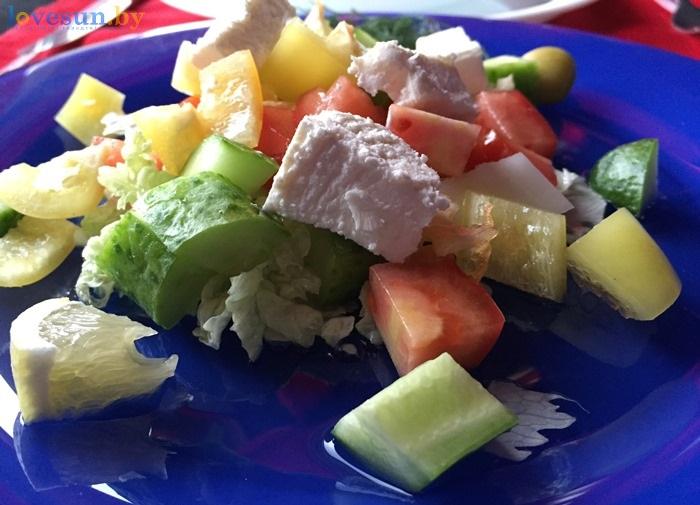 Ресторан Ксарт салат греческий IMG_8307