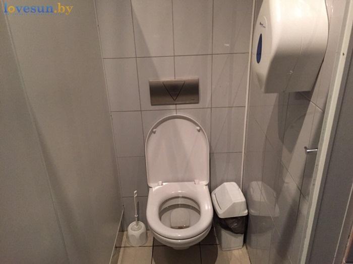Ресторан Ксарт туалет