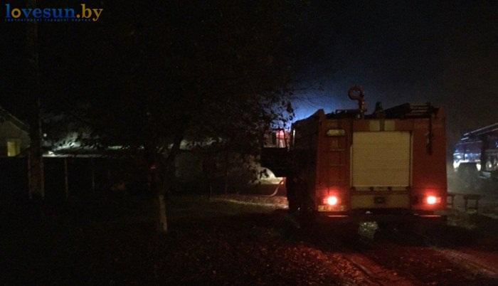 пожар по ул Центральная 31.10.2015 2