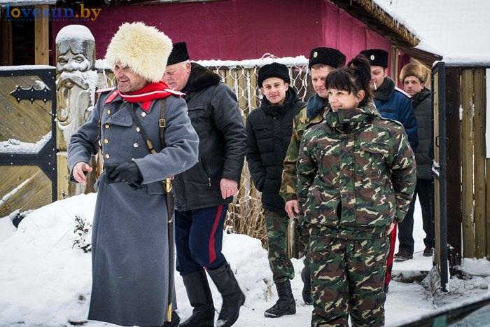 Крещение 2016 казаки
