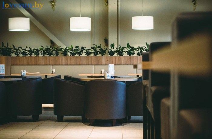 пицца смайл закусочная кафе интерьер цветы кресла стол