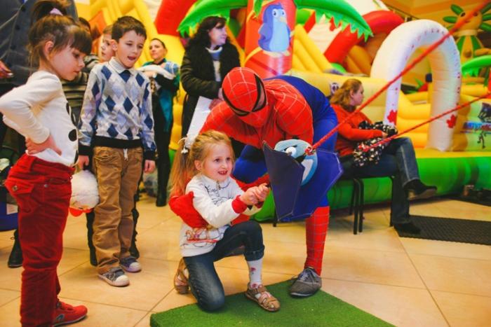 планета желаний детский праздник человек паук