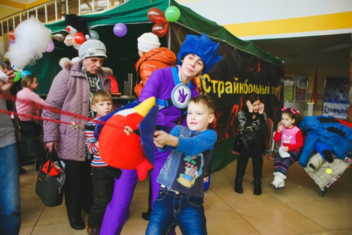 планета желаний детский праздник фиксики