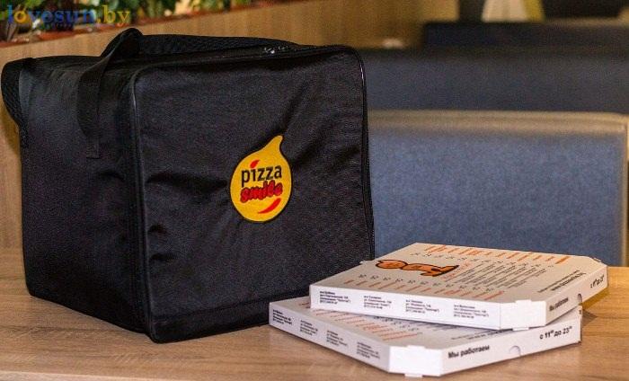 сумка для пиццы смайл