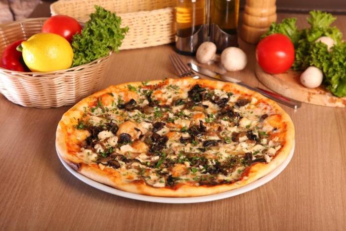 пицца меню кухня