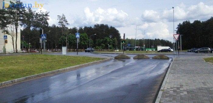 блоки возле евроопта по Шоссейная