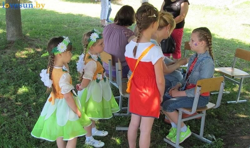 паричи лето день детей