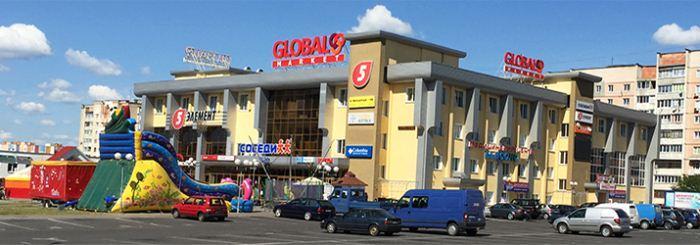 торговый центр глобал маркет в Мозыре