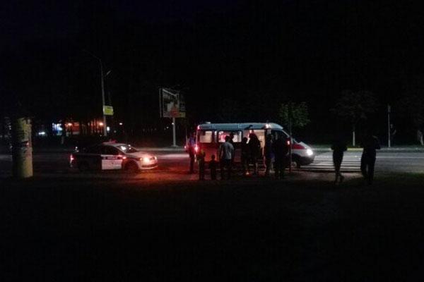 ДТП скорая ГАИ сбили девушку 04.06.2016