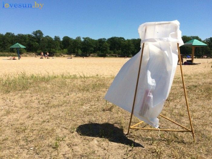 День молодёжи 2016 пляж мешок мусорка