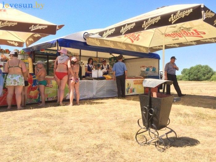 День молодёжи 2016 пляж мусорка