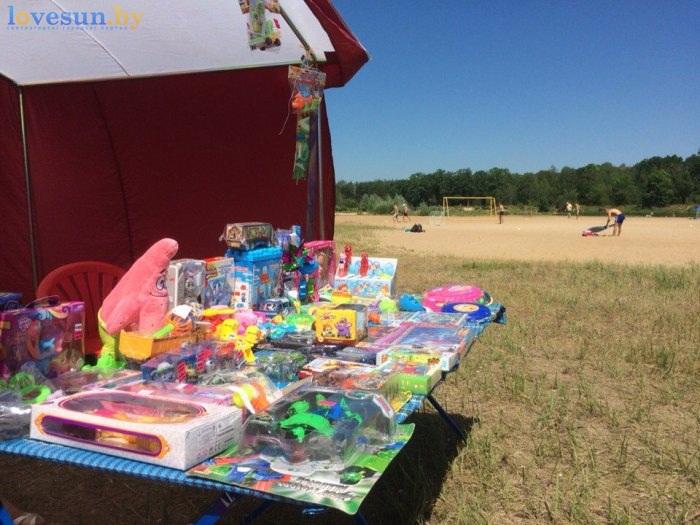 День молодёжи 2016 пляж палатка игрушки