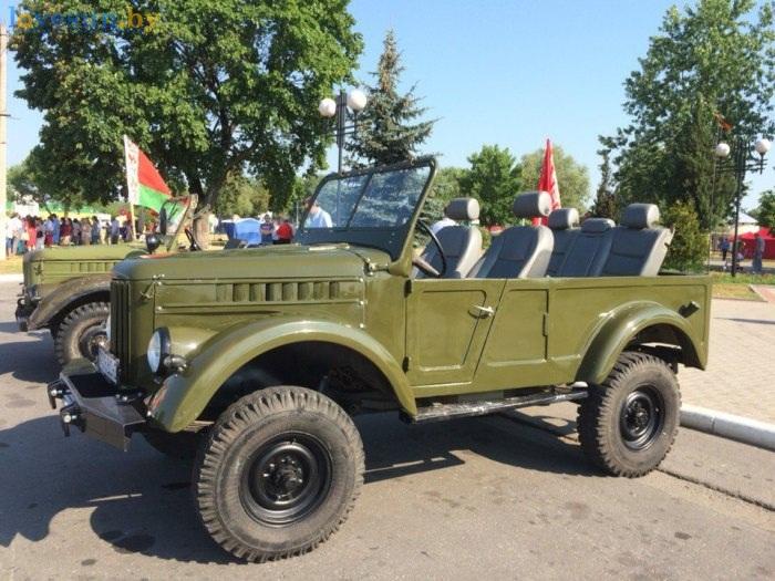 день независимости 2016 автомобиль старый
