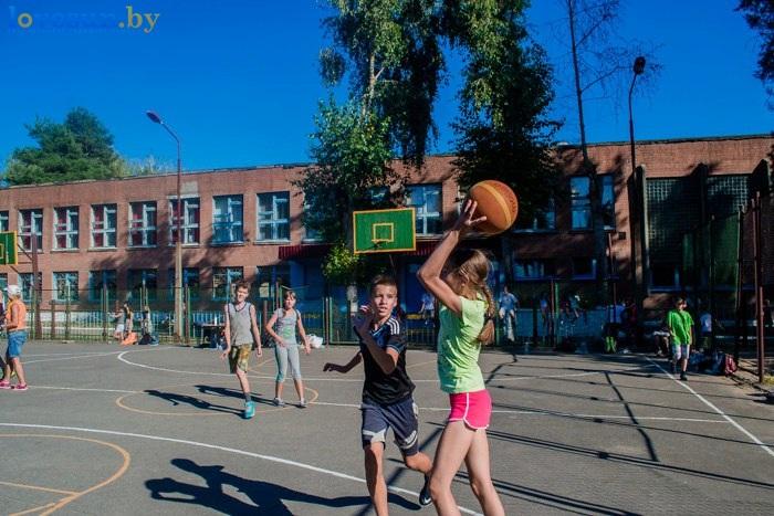 стритбол 2016 дети баскетбол спорт