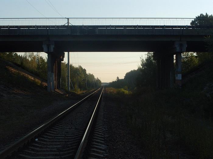 железная дорога мост