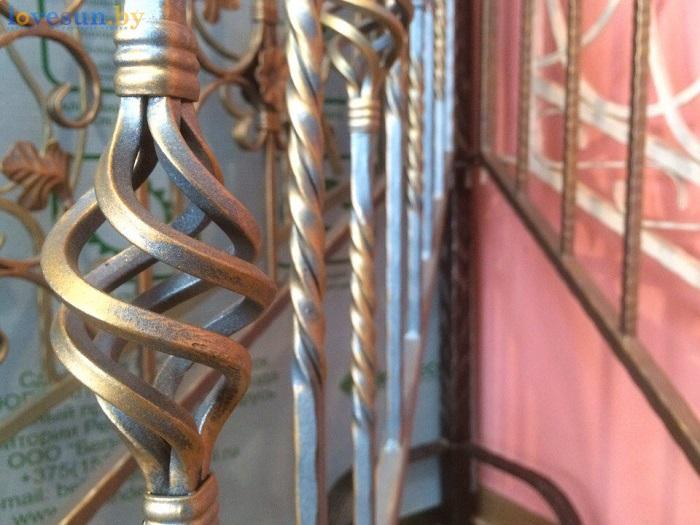 магазин дворик металл кованные перила