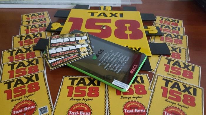 планшет андроид такси 158