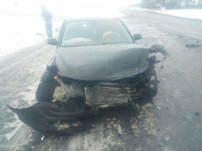 ДТП на чирковичском перекрёстке авария авто