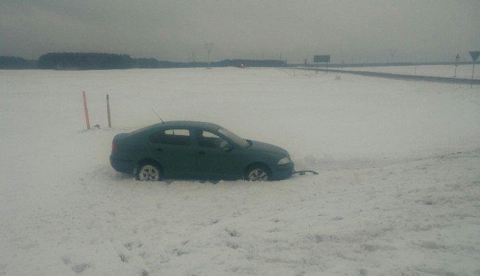 Под Светлогорском вДТП попали три авто