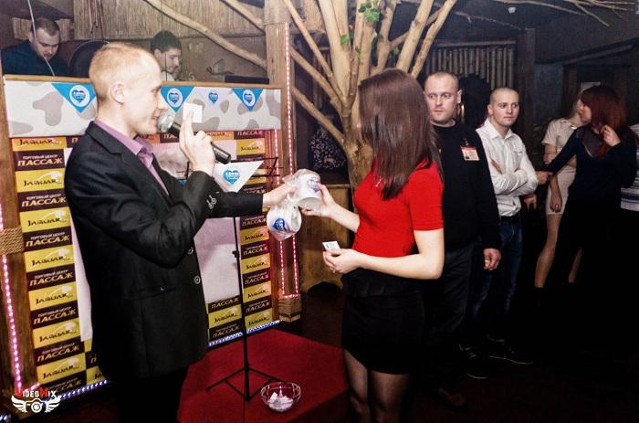 вечеринка (дискотека) в честь 15 000 подписчиков марина милтон андрей кочешов, призы вручение