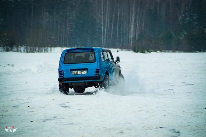 Авто горячий лёд 2017 нива
