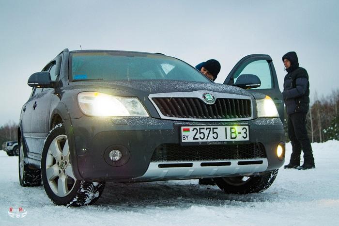 Авто горячий лёд 2017 шкода