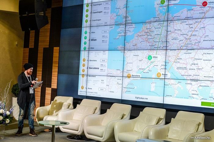 Олег тихонов и его приложения о путешествиях, карта 2