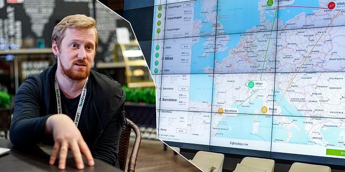 Олег тихонов и его приложения о путешествиях, карта
