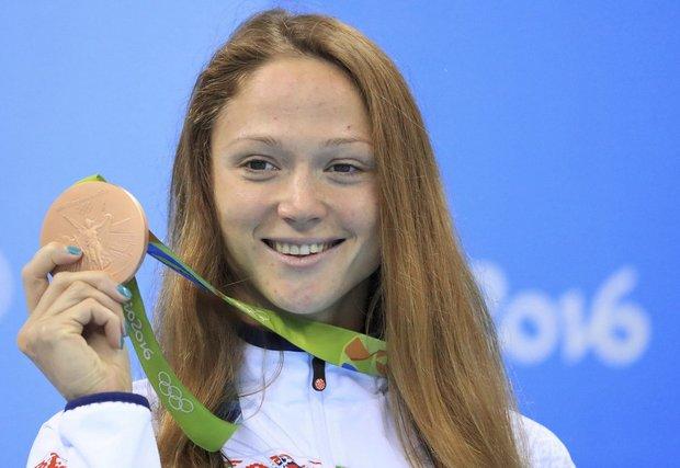 александра герасименя олимпийская вице-чемпионка Олимпиады в рио