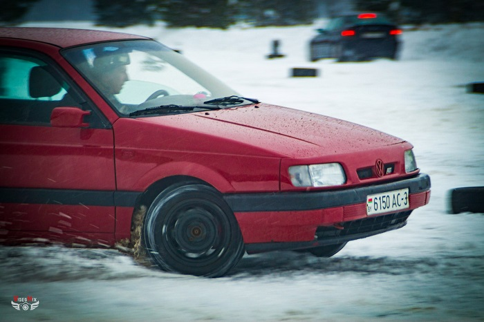 авто горячий лёд 2017 снег фольксваген