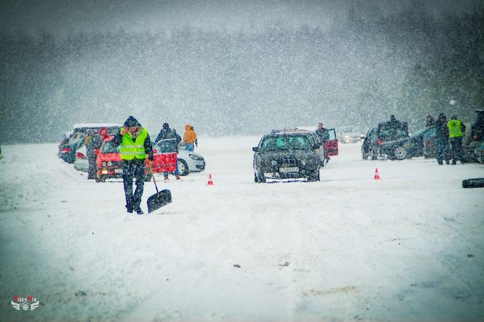 авто горячий лёд 2017 снег