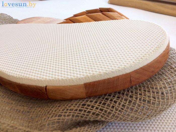 деревянные шлёпанцы для бани подошва
