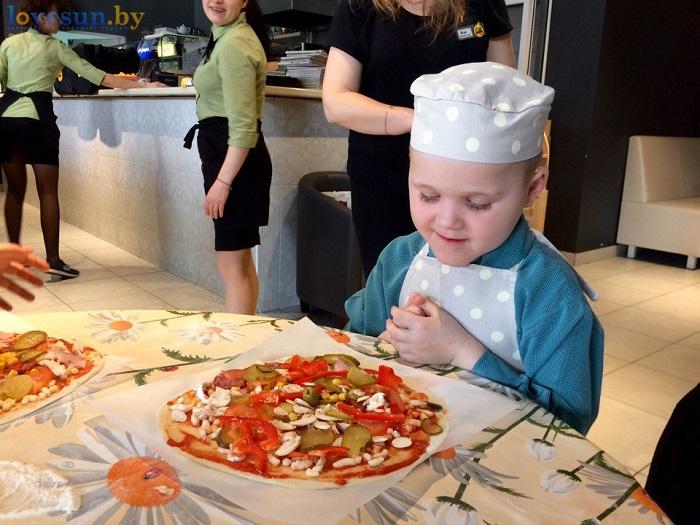 дети в пицца смайл мастер-класс 09.03.17 смотри