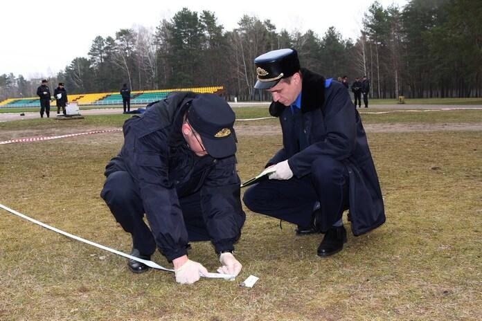 Следственный комитет учения место преступления криминал улика