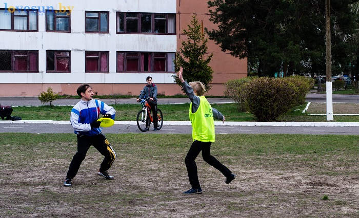 Тренировка Алтимат (Фрисби) 15.04.2017 парни