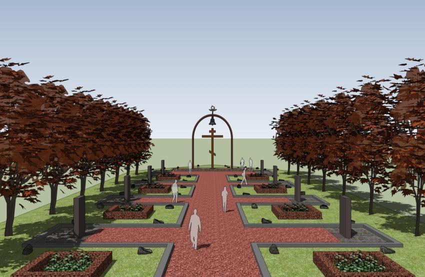 как будет выглядеть мемориальный комплекс Ола