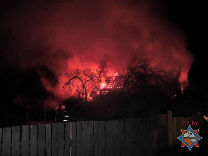 пожар в деревне залье погиб пенсионер 3
