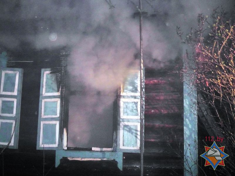 пожар в деревне залье погиб пенсионер