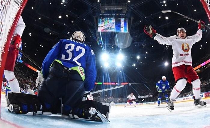 Хоккейный матч словения беларусь чемпионат мира 2017 гол 3