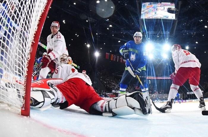 Хоккейный матч словения беларусь чемпионат мира 2017 гол