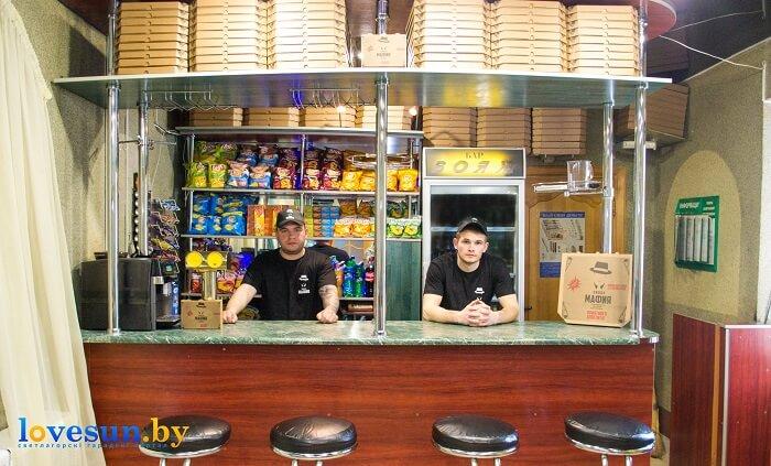 Пицца Мафия продавцы бармены