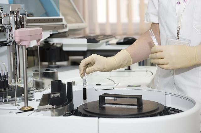 медик больница лаборатория пробирка вич спид болезнь