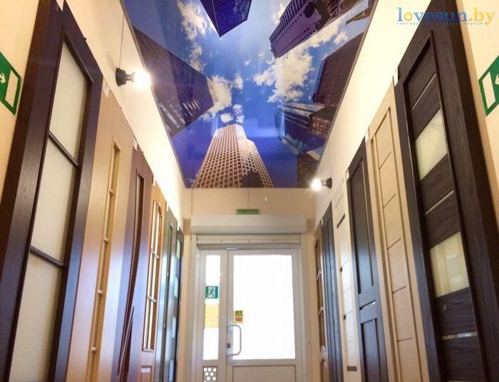 торговый центр Пассаж роодпжп товары магазин потолок небо двери