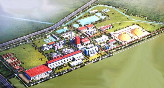 завод по производству сульфатной беленой целлюлозы в Светлогорске