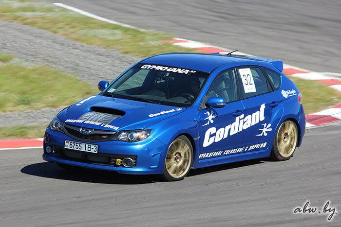 Автомобиль Subaru Алексея Коновальчика