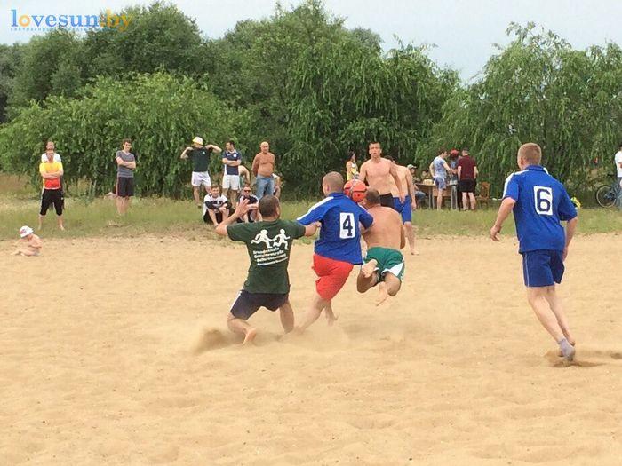 День молодёжи 24.06.2017 пляж песок борьба за мяч